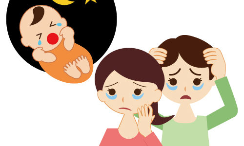 970631 500x300 - 新生児期・乳児期に必須のアイテム!これで安心!夜泣き対策!