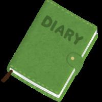 book nikkichou diary 200x200 - 日記のようなもの① 娘A・Bちゃんの日常をあるがままに伝える